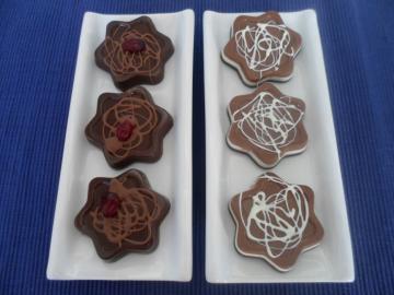 Estrelletes de xocolata