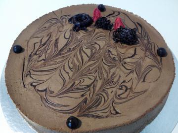 Semi fred de xocolata negra